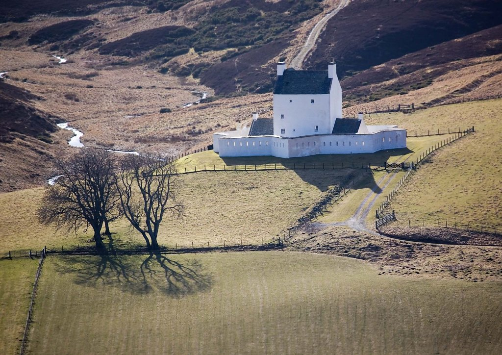 """""""Home on the pass"""", Corgarff Castle"""