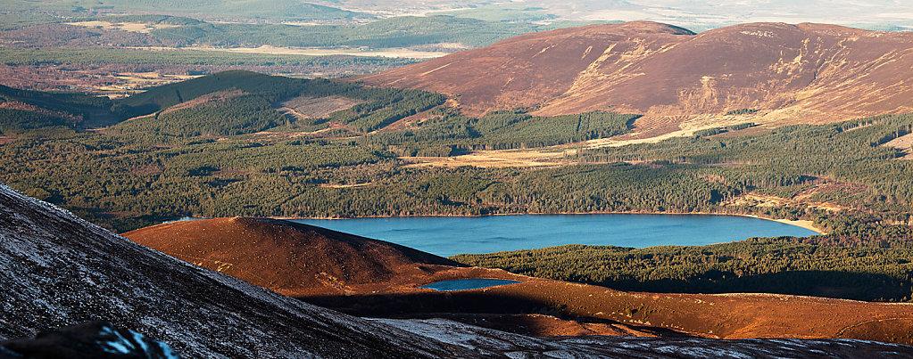 Glenmore Lochs Panorama